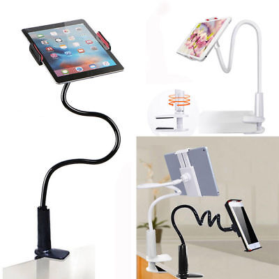 360º Lazy Bed Flexible Arm Mount Stand Holder For iPad Samsung Android Tablet JT