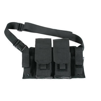 BlackHawk 55RB01BK Black Shoulder (Cross-Torso) Carried 223 Rifle Bandoleer