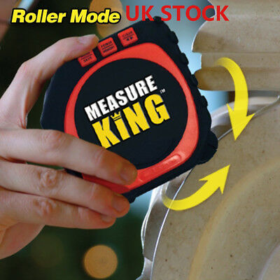 Measure King 3-in-1 Digital Tape Measure String Mode Sonic Mode & Roller Mode G