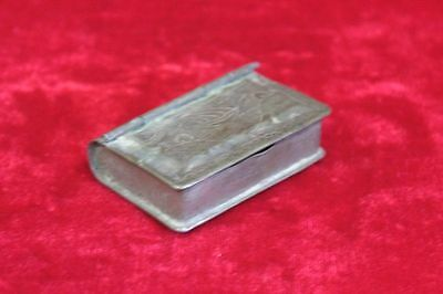 Old Vintage Small Brass Case Box Decorative Collectible PM-22