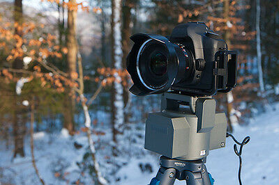 Electric DSLR Camera Tripod Head Pan & Tilt MP 101 for Sony Canon Nikon Olympus