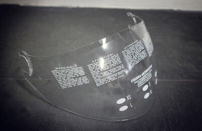 Airoh Visier Visor klar transparent 052759 0011752 Helm Helmvisier