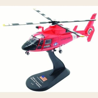 helicopter Eurocopter HH-65C Dolphin model diecast 1:72 metal