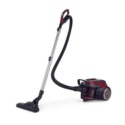 Bagless Vacuum Cleaner HEPA Shop Vac Carpet cleaning 800W Energy A Grey/ Red