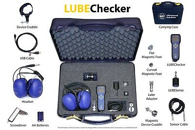 LUBEChecker : ultrasound solution designed to optimize bearing lubrication.