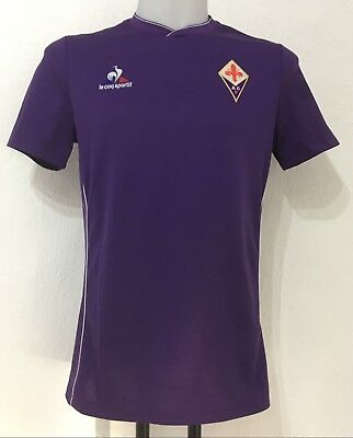 Fiorentina 2015/168 S/s Home Shirt By Le Coq Sportif Size Men's Xl Brand New