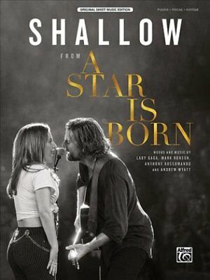 Shallow From a Star Is Born, Sheet by Lady Gaga 9781470641528 (Paperback, 2018)