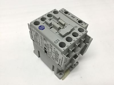 Allen Bradley 100-C23*10 Contactor Relay w/100-S Auxiliary Contact, Coil: 120VAC