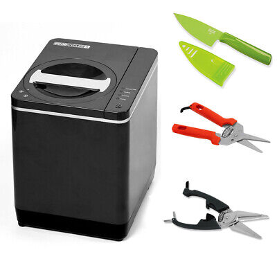 Food Cycler Platinum Indoor Food Recycler and Kitchen Compost Container Bundle