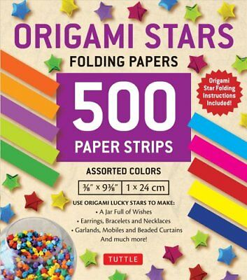 Origami Stars 500 Folding Strips by Tuttle Publishing 9780804849517 (Kit, 2017)