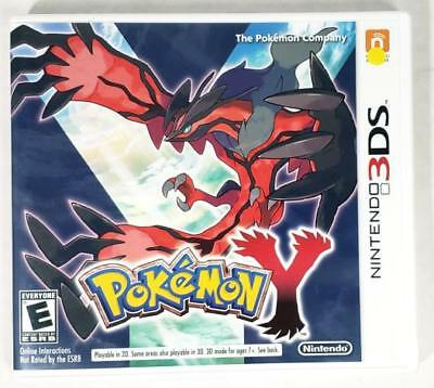 Nintendo Pokemon Y 3DS With Manual & Case (HE3000536)