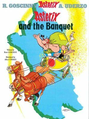 Asterix: Asterix and the Banquet Album 5 by Rene Goscinny 9780752866093