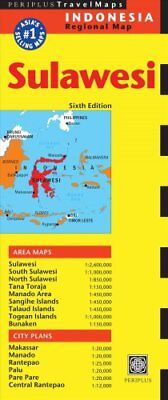 Sulawesi Travel Map Sixth Edition by Periplus Editions 9780794607630