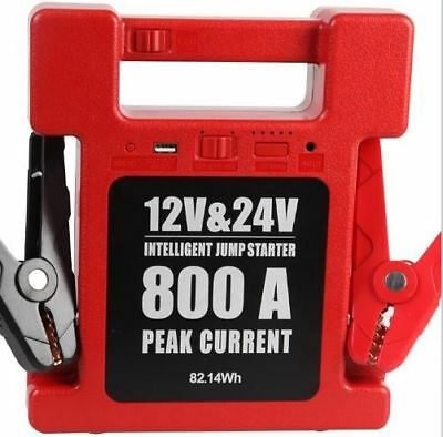 Jump Starter 12/24v Commercial LED light  22,200mAh USB Charger iPads ETC.