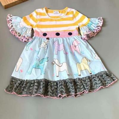 W-1074 Boutique Horse Dress (Ready to Ship Now from Ohio) (Free Shipping)