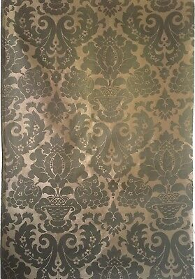 Beautiful 1930's French Woven Damask Fabric (2531)