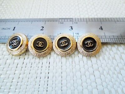 Chanel Button Replacements Lot of 4 -  15 MM