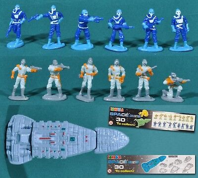 Tombola Surprise, 18 figurines Space Collection + 1 Navigator + 2 BPZ