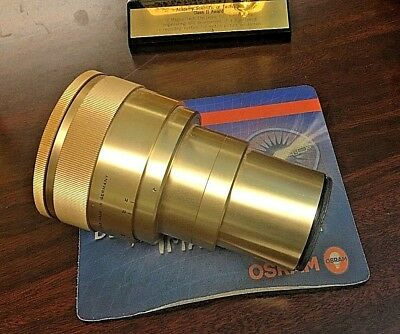 Isco 2X Anamorphic 35mm cine projection Lens Clean