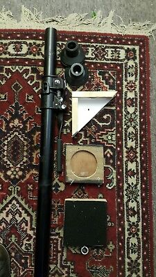 Manfrotto autopole with extras. 032 studio lighting backdrop support 2.10-3.70m