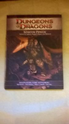 Dungeons & Dragons 4th Ed Martial Power Role Playing Supplement