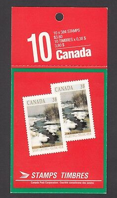 Canada Booklet #107 Mint/nh Unexploded - Cv 60$ See Scan!