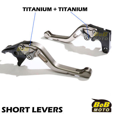 Fit Yamaha TMAX 530 XP500 15 16 Titanium Short CNC Brake Clutch Levers STT AU