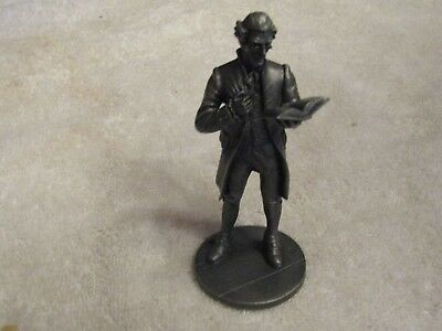 Franklin Mint The American People 1776 - 1976 The Schoolmaster Pewter Figure
