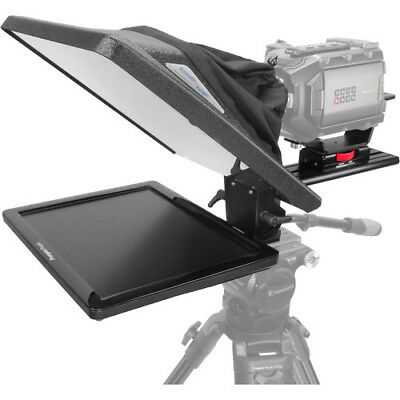 """Prompter People Flex Plus 15"""" Teleprompter with 15"""" Reversing Regular Monitor"""