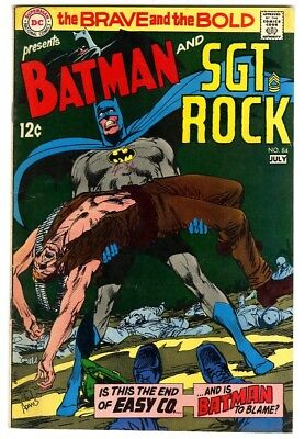 Brave and the Bold #84 (1969) VF- New DC Silver Age Collection
