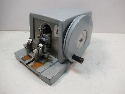 American Optical AO Spencer 820 Microtome Vintage Laboratory Lab Unit