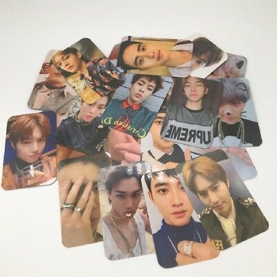 1 Set EXO 5th Album Don't Mess Up My Tempo Autograph Photocard Paper Photo Cards