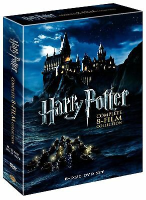 Harry Potter: Complete 8-Film Collection (DVD, 8-Discs) FREE SHIPPING US SELLER