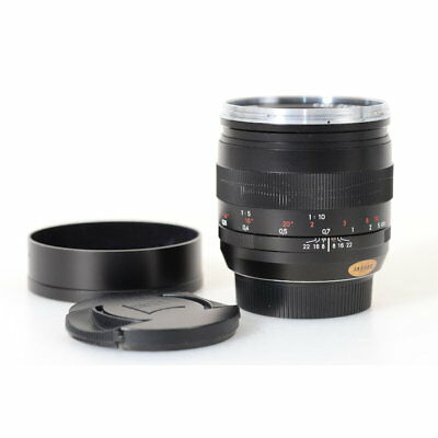 Carl Zeiss Planar T 50 mm F/2.0 ze Lens for Canon Ef Mount