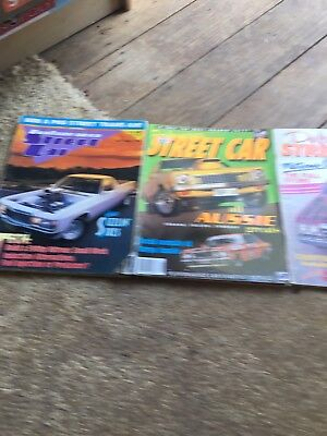 3 Performance Street Car Magazines From  89,90 And 1996 Issues