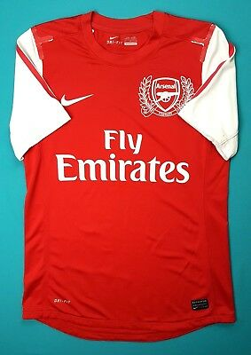 Arsenal player issue jersey MEDIUM 2011 2012 home shirt soccer Nike ig93