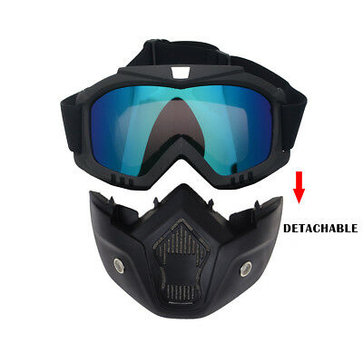 2936bb7641be Winter Snow Sports Goggles Ski Snowboard Snowmobile Skate Full Face Mask  Glasses