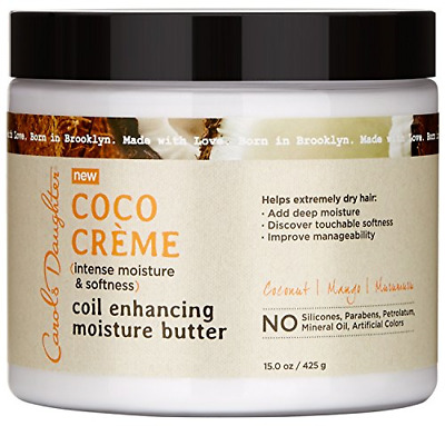 Carols Daughter Coco Creme Coil Enhancing Moisture Butter, 15 Ounce
