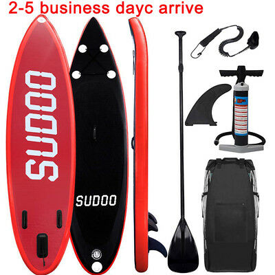SUP Board Stand Up Paddle Surf-Board aufblasbar SUDOO Paddel Paddling 305cm