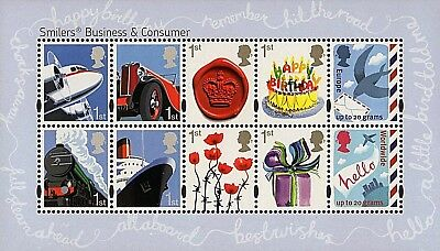 GB Stamps 2010 'Business & Consumers Smilers' MS3024 - U/M