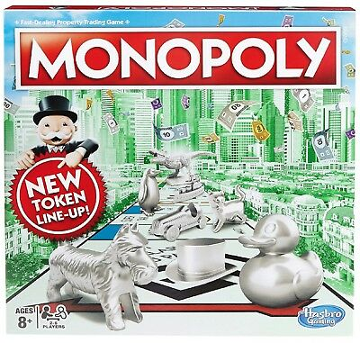 Original Monopoly Board Game Latest Classic Design Traditional with Box