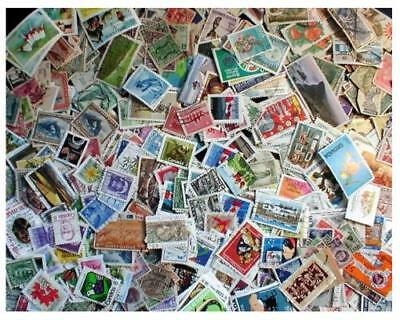 British Empire Stamp Collection - 2,000 Different Stamps