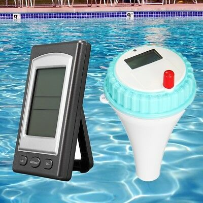 Wireless Remote Receive Swimming Pool Fish Pond Thermometer LED Backlight