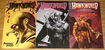 Hawkworld #1-3 VF/NM complete series TIM TRUMAN hawkman dc comics set 1989 2
