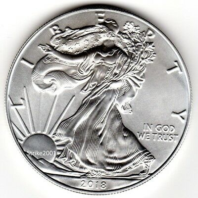 Dollaro USA 2018 Oncia Argento Liberty Eagle 1 oz.