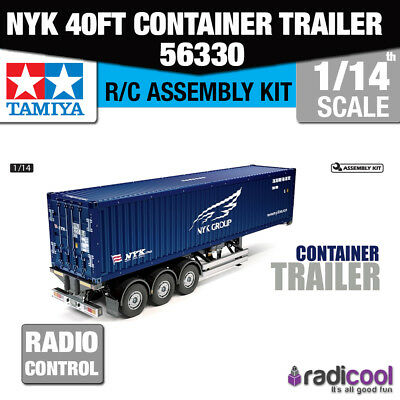 56330 Tamiya NYK 40ft Container Semi-Trailer 1/14th R/C Radio Control Assembly