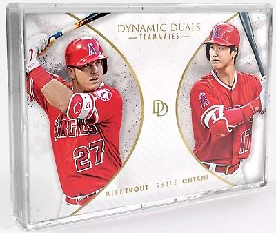 2018 Topps On Demand Set #8 DYNAMIC DUALS 30 card set Ohtani/Trout Acuna/Soto RC
