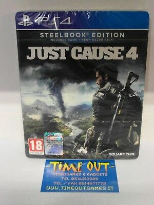 Just Cause 4 Steelbook Edition Sony Playstation 4 Ps4 In Italiano Nuovo