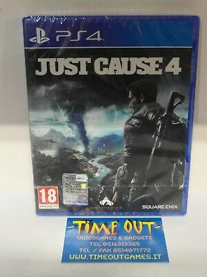 Just Cause 4 Sony Playstation 4 Ps4 In Italiano Nuovo