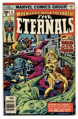 Eternals #3 1st Sersi Female Main Hero Of New Movie 1976 Avengers Member Vg 4.0 Delicious In Taste Collectibles